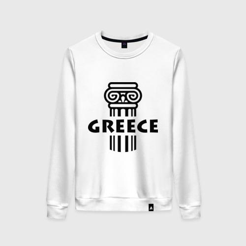 Женский свитшот хлопок Греция