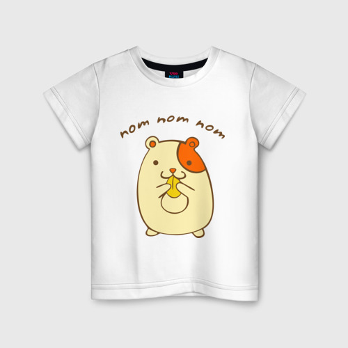 Детская футболка хлопок Ням-ням-ням