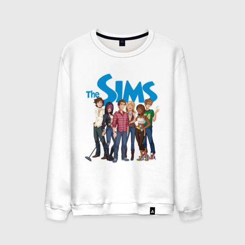 Мужской свитшот хлопок The Sims heroes