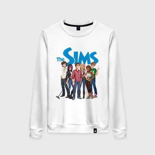 Женский свитшот хлопок The Sims heroes