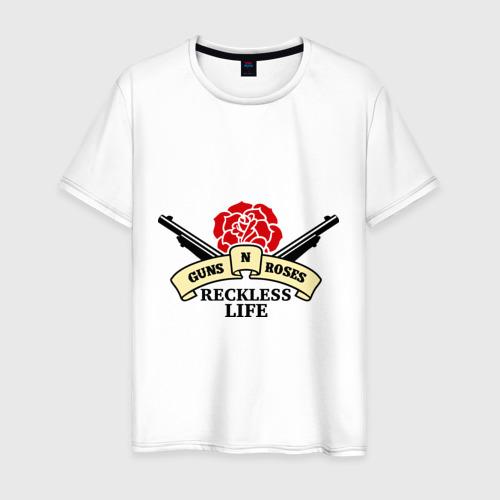 Мужская футболка хлопок GNR reckless life