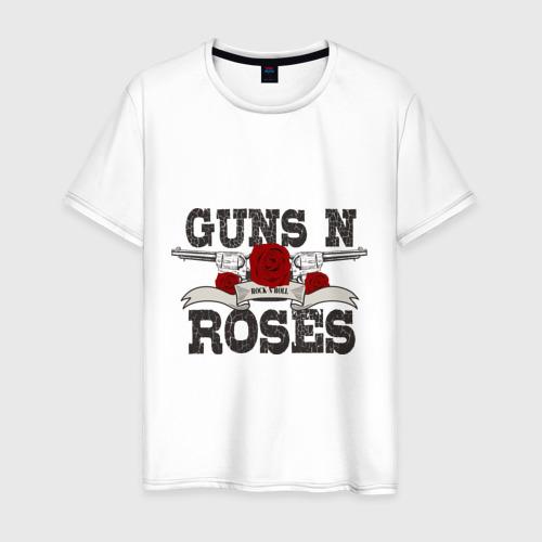 Мужская футболка хлопок Guns n roses black
