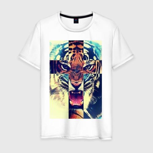 Мужская футболка хлопок SWAG tiger