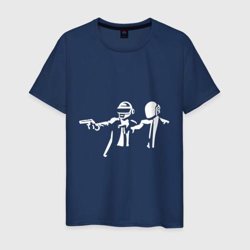 Мужская футболка хлопок daft punk
