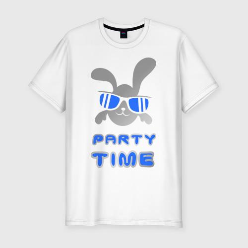 Мужская футболка хлопок Slim It\'s party time
