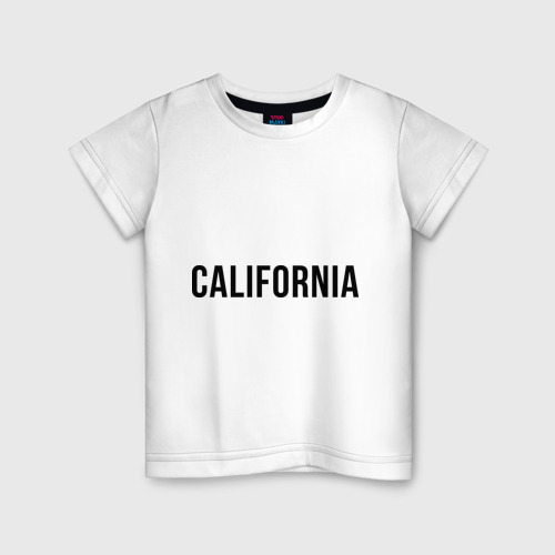 Детская футболка хлопок California (Los Angeles)