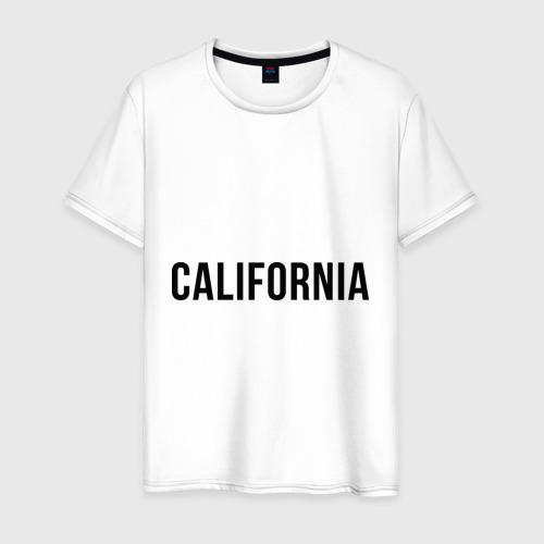 Мужская футболка хлопок California (Los Angeles)