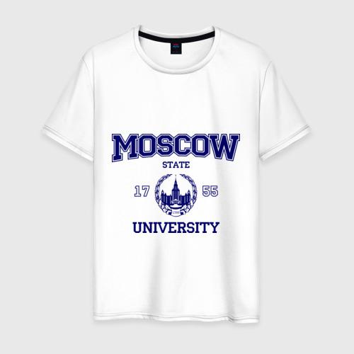 Мужская футболка хлопок MGU Moscow University