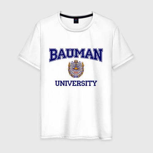 Мужская футболка хлопок BAUMAN University