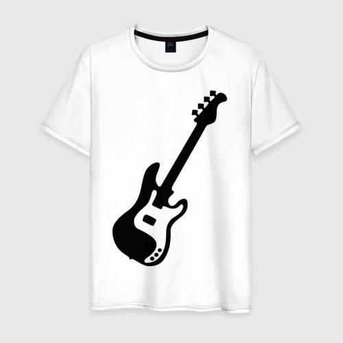 Мужская футболка хлопок Гитара