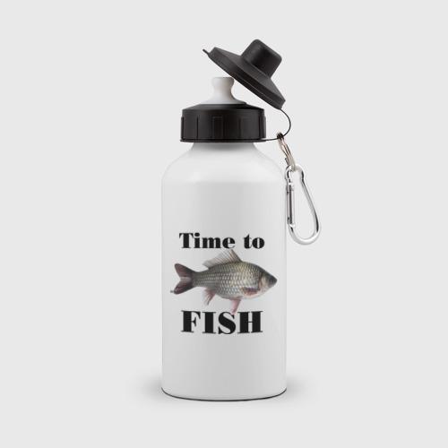 Бутылка спортивная Time to fish.
