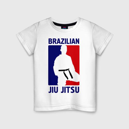 Детская футболка хлопок Джиу-джитсу  (Jiu jitsu)