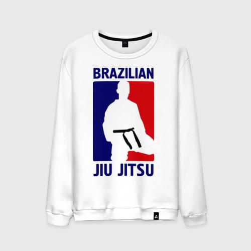 Мужской свитшот хлопок Джиу-джитсу  (Jiu jitsu)