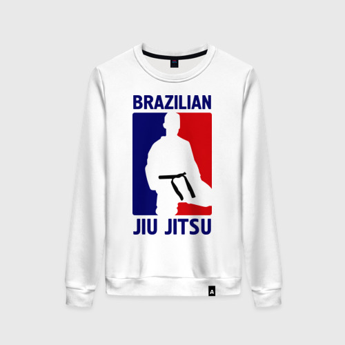 Женский свитшот хлопок Джиу-джитсу  (Jiu jitsu)