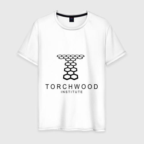 Мужская футболка хлопок Torchwood Institute