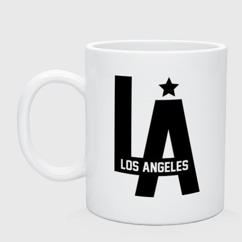 Кружка керамическая Los Angeles Star