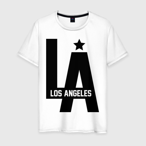 Мужская футболка хлопок Los Angeles Star