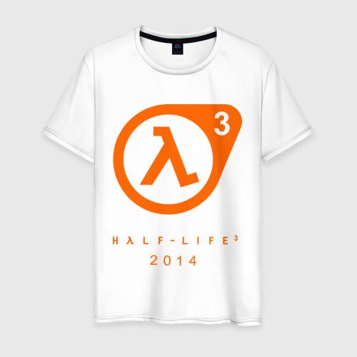 Мужская футболка хлопок Half - life 3