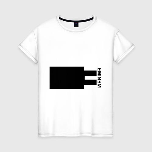 Женская футболка хлопок Eminem