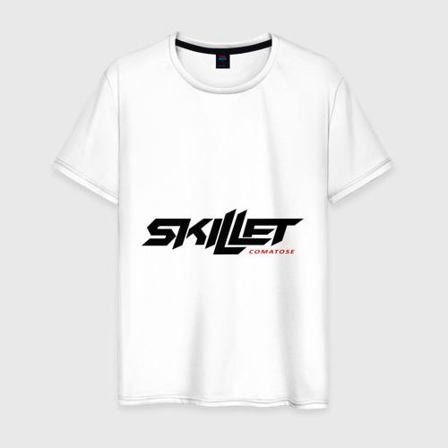Мужская футболка хлопок Skillet comatose