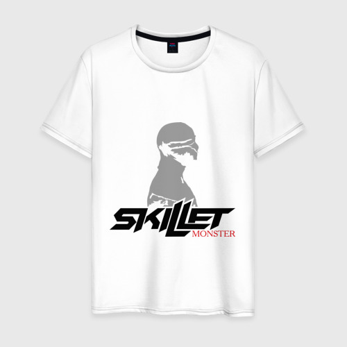 Мужская футболка хлопок Skillet monster