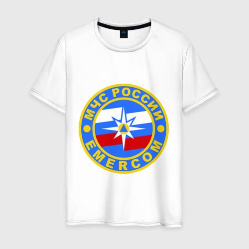 Мужская футболка хлопок МЧС России