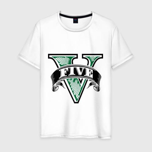 Мужская футболка хлопок GTA logo