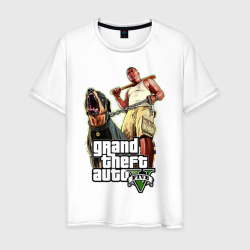 Мужская футболка хлопок GTA 5