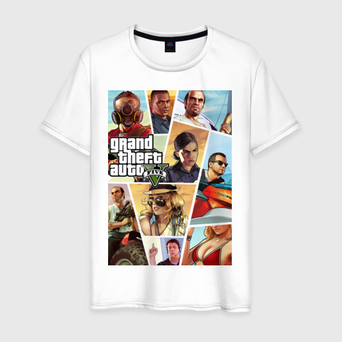 Мужская футболка хлопок GTA