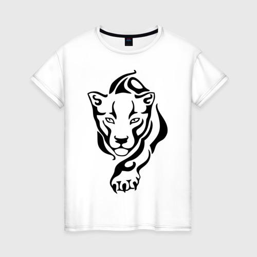 Женская футболка хлопок Пума