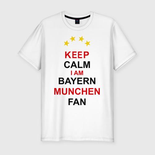 Мужская футболка хлопок Slim Бавария