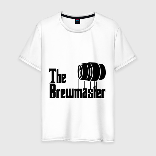 Мужская футболка хлопок The brewmaster (пивовар)