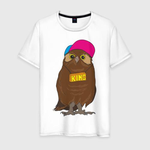 Мужская футболка хлопок Swag owl