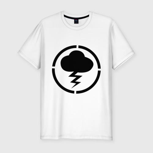 Мужская футболка хлопок Slim Знак Misfits