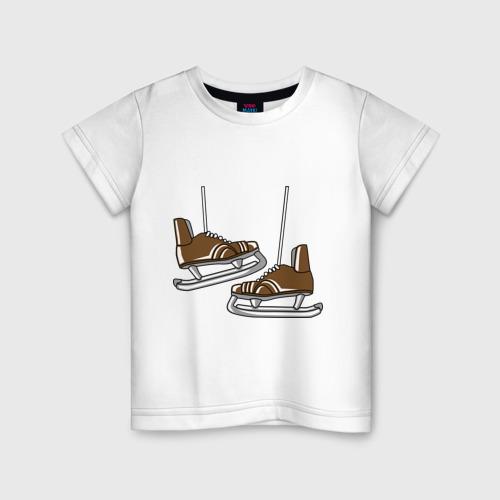 Детская футболка хлопок Старые коньки