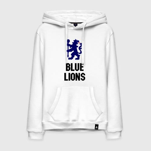 Мужская толстовка хлопок blue lions (chelsea)