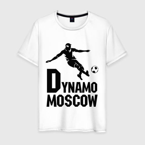 Мужская футболка хлопок Dynamo Moscow