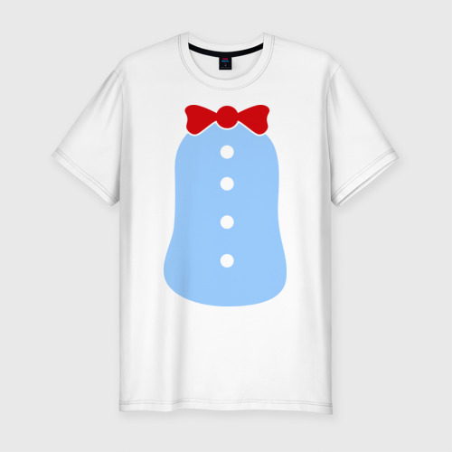 Мужская футболка хлопок Slim Костюм Пингвина
