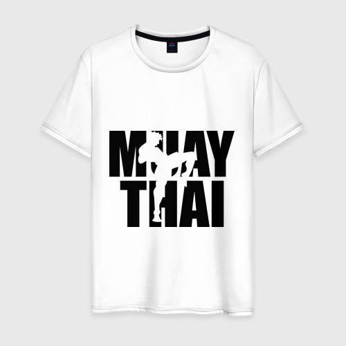 Мужская футболка хлопок Muay thai  (Тайский бокс)