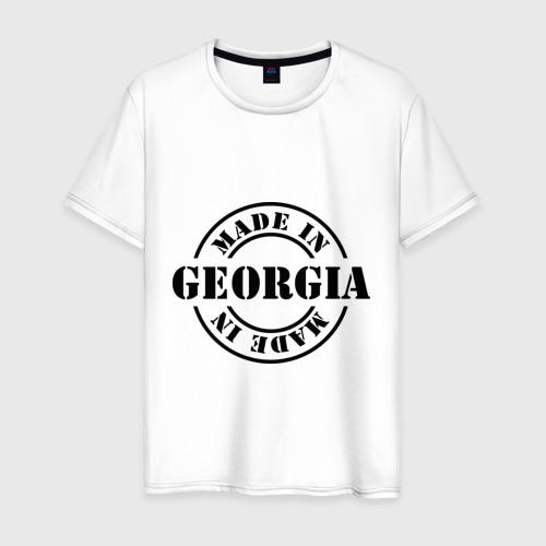 Мужская футболка хлопок Made in Georgia (сделано в Грузии)