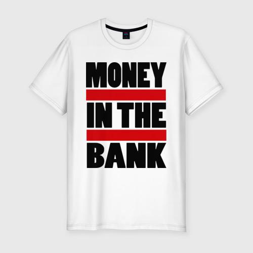 Мужская футболка хлопок Slim Деньги в банке