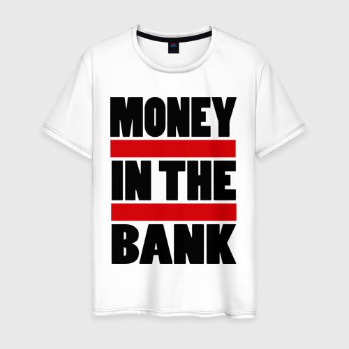 Мужская футболка хлопок Деньги в банке