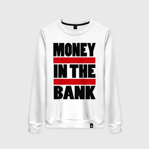 Женский свитшот хлопок Деньги в банке