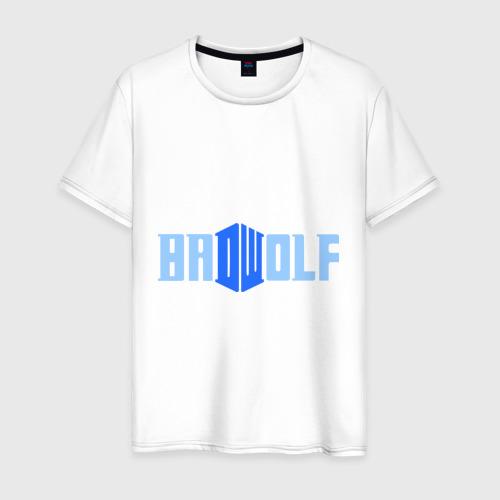 Мужская футболка хлопок Доктор Кто - bad wolf