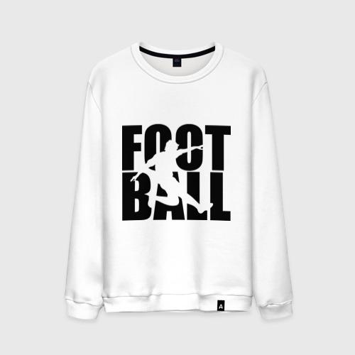 Мужской свитшот хлопок Football (Футбол)