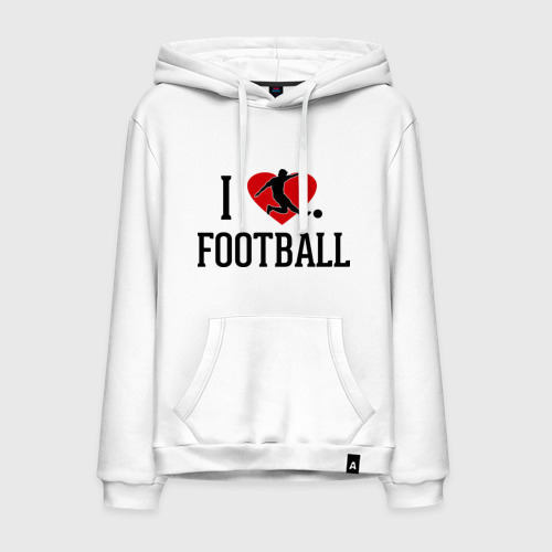 Мужская толстовка хлопок Я люблю футбол