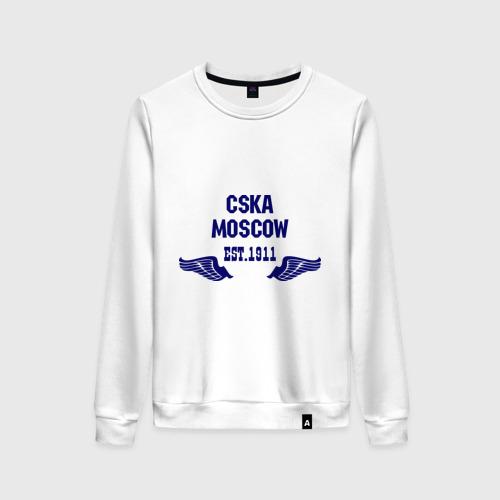 Женский свитшот хлопок CSKA Moscow