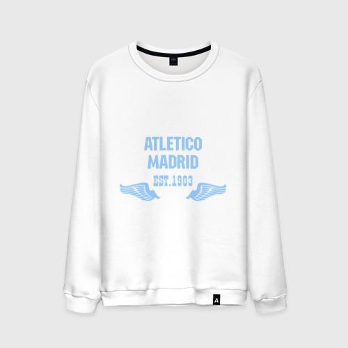 Мужской свитшот хлопок Atletico Madrid (Атлетико Мадрид)
