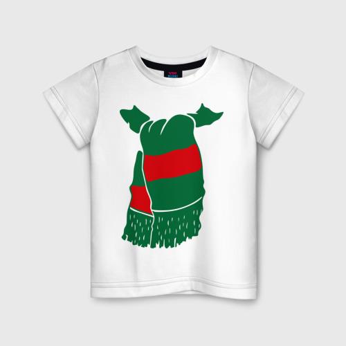 Детская футболка хлопок Локомотив шарф