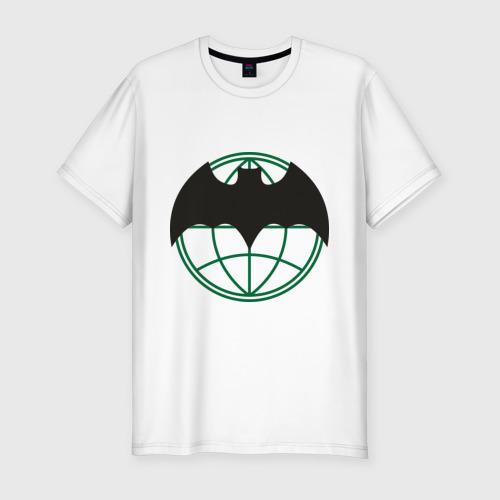 Мужская футболка хлопок Slim Символ разведки